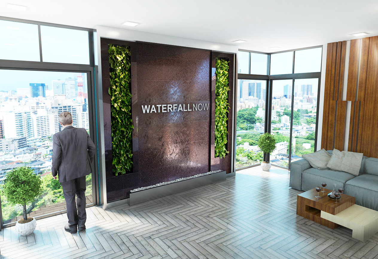 office waterwall