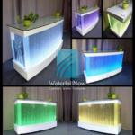 led bubble reception table