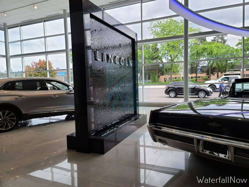 custom waterfall lincoln ford car dealership